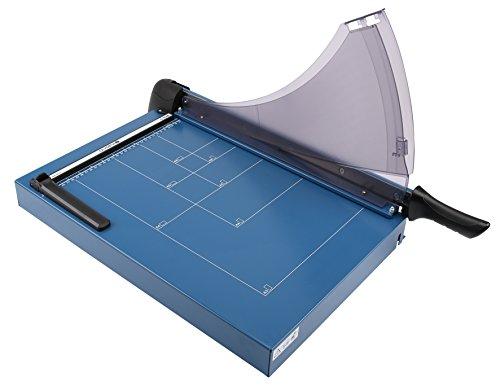 Olympia G 4640 Profi Papierschneider (DIN A3, 40 Blatt, Schnittschutz, Hochwertige Schneidemaschine aus Metall, Papierschneidemaschine mit Schneidelineal)