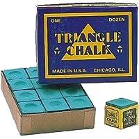 Triangle - Lote de tizas para tacos de billar (24 unidades)