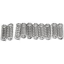 Rokoo 10 Piezas / Set 7.5mm muelles de acero al carbono estampado de la litera