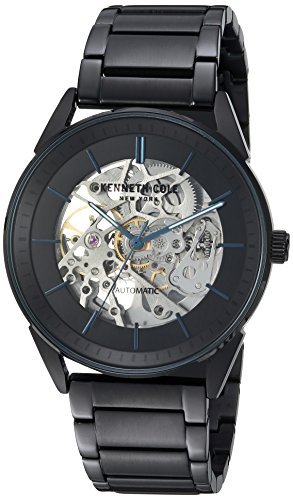 Kenneth Cole New York Men's Automatic Stainless Steel Casual Watch, Color:Black (Model: KC50192007)