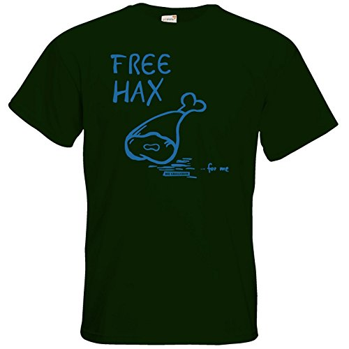 getshirts - Die Grillshow - The Shop - T-Shirt - Free Hax blau Bottle Green