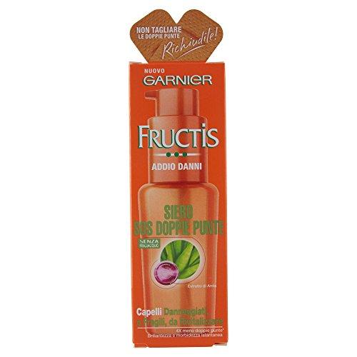 Garnier Fructis Addio Danni Siero Sos Doppie Punte per Capelli Danneggiati o Fragili, 50 ml
