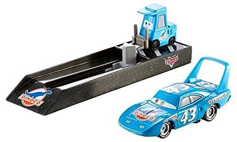 Mattel Y9060 – Disney Pixar Cars – Pit Crew Starter – The King [UK Import] (Diecast Pit)