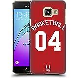 Head Case Designs Basket-Ball Jersey Sportif Étui Coque D'Arrière Rigide Pour Samsung Galaxy A3 (2016)