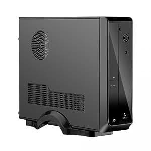 Merveilleux ... Circle Lil Desktop Computer Cabinet (Black)
