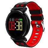 MCYs Smart Uhr für Herren und Damen, K2 Farbbildschirm Herzfrequenz Blutdruck Sport IP68 Smartwatch für IOS Android