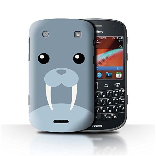 Stuff4® Hülle/Case für BlackBerry Bold 9900 / Walross Muster/Animierte Tiergesichter Kollektion -