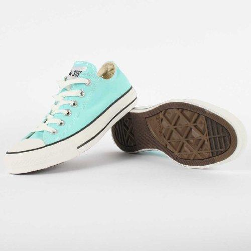 Converse All Star Ox, Sneaker Unisex Adulto Blu (Aruba Blue)