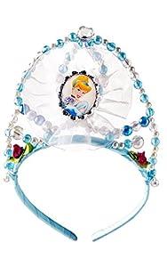 Princesas Disney - Tiara de Cenicienta, color azul, Talla única (Rubie