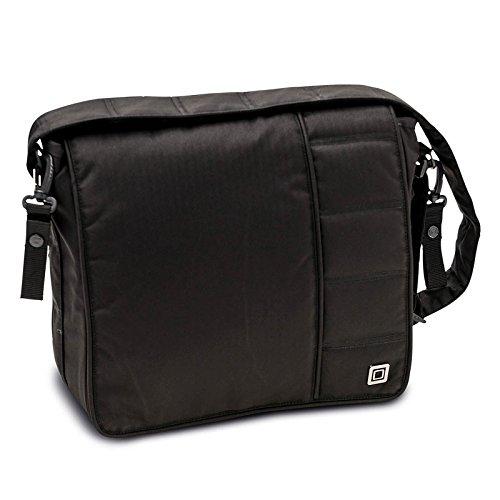 Preisvergleich Produktbild Moon 65000042-891 Wickeltasche, black/fishbone, schwarz