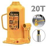 Tolsen IH74-VCES Gato hidráulico de botella de 20 toneladas (IH74)