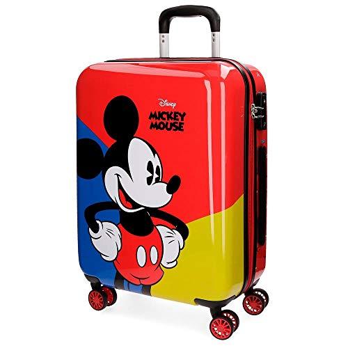 Mickey Valigia per bambini, 55 cm, 33 liters, Rosso (Rojo)