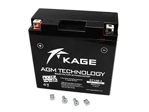 GEL-Batterie KAGE YT14B-4/YT14B-BS 14AH für Yamaha