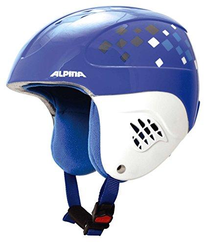 Alpina Carat Helmet Kids blue-diamonds Kopfumfang 48-52 cm 2017 Skihelm