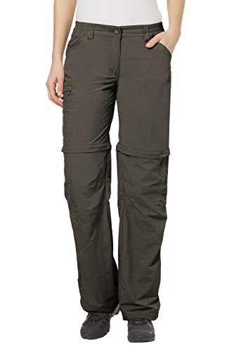 VAUDE Damen Hose Farley Zip Off Pants IV, Fir Green,40/M, 3873 - Fir Green