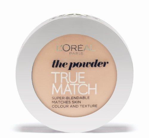 L'Oréal Paris True Match, Cipria, W5 Golden Sand, 9 g, W5