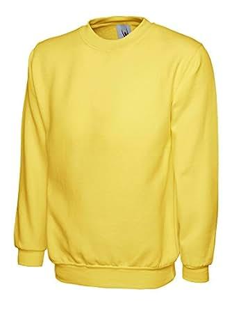 Set-In Sweatshirt - Farbe: Sunflower - Größe: S