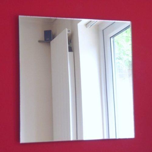 Quadratischer Spiegel - Acryl, 25cm x 25cm