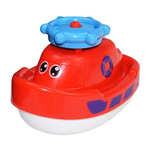 D.ragon Baby Wasser Spray Badespielzeug| Elektronische Wasser Spray Spielzeug Drehen Mit Schwimm Brunnen Spielzeug Für Baby Kleinkind Infant Cozy (Floating-spray-brunnen)