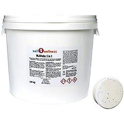 well2wellness Chlor Multitabs 5 in 1 200g mit 96% Aktivchlor - 10 kg