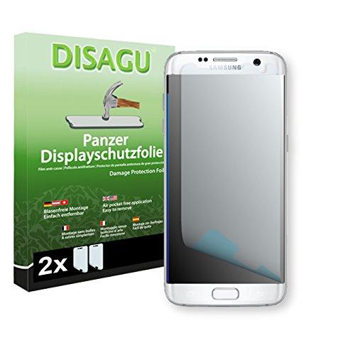 2 x DISAGU Pellicola alta protezione del display per Samsung Galaxy S7 Edge antirottura