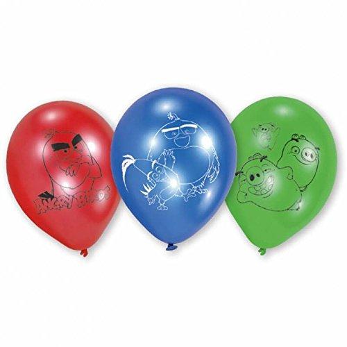 amscan-9900936-6Latex Balloons Angry Birds (Birds Luftballons Angry)