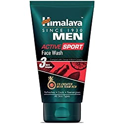 Himalaya Men Active Sport Face wash, 100ml