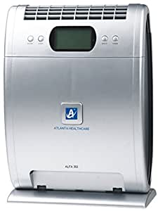 Atlanta HealthcareAlfa 3515-StagePurification 350sq. ft., 210m3/hr. air flow HEPA Air Purifier with Remote Control (Grey)