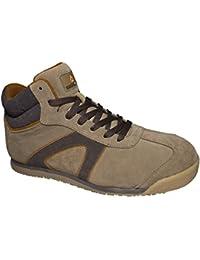 Delta plus calzado - Juego bota piel serraje beige talla 44(1 par)