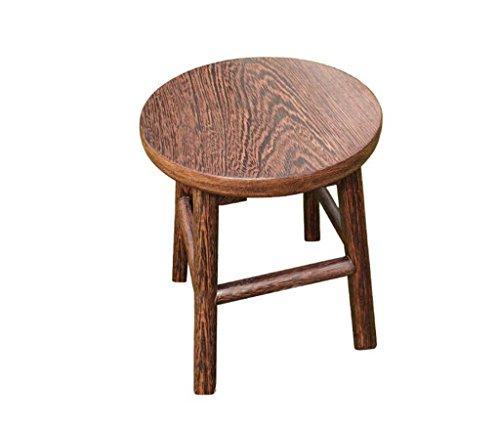 Tabouret en bois Tabouret en bois massif Tabouret en bois Table à manger Tabouret à chaussures Tabouret de table Tabouret d'enfant Home salon Petit tabouret 45CM Haut (taille : 45 * 30cm)