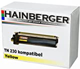 Hainberger Toner Yellow für Brother TN-230 DCP-9010 Brother DCP-9010 CN Brother HL 3040 CN Brother HL 3070 CW Brother MFC-9120 CN Brother MFC-9320 CW