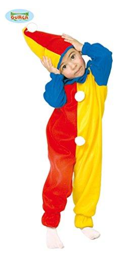 bunter Baby Clown - Kostüm für Kinder Gr. 86 - 98, (Baby Clown Zirkus Kostüme)