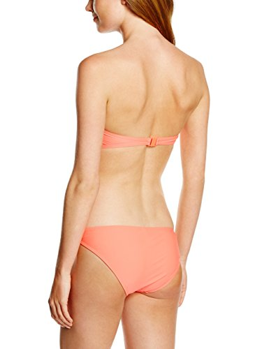 Miami Beach Swimwear Damen Bikini-Set in Wickeloptik Orange (coral romance 211)