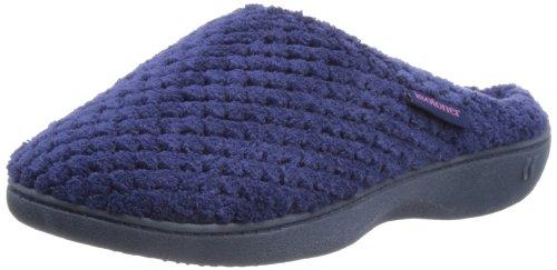 isotoner-popcorn-terry-women-open-back-slippers-blue-navy-6-uk-39-eu