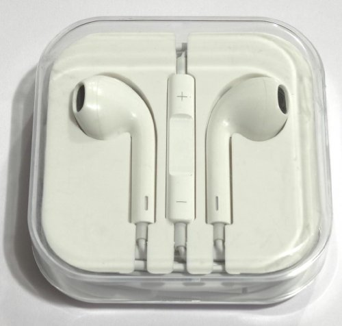 CABLESETC tereo Headset Earpods w Mic Volume For Apple iPhone 5 4S 4 iPad iPod Touch Nano