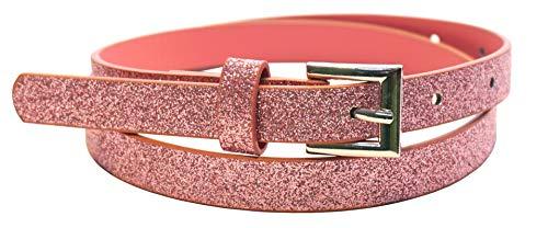 Cintura 'glitter fairy' per bambini della scuola materna e della scuola elementare (fianchi 57-72 cm), rosa chiaro