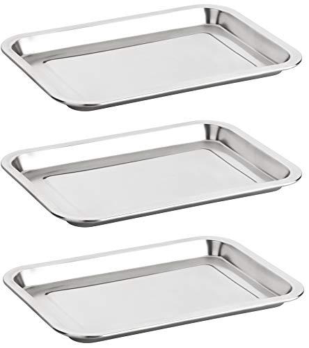 3x Panier Set panieren Schalen praktisch stabil platzsparend stapelbar Schnitzel