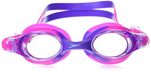 Speedo Kids' Skoogles Swim Goggle, Bright Pink, One Size Split-unisex Latex