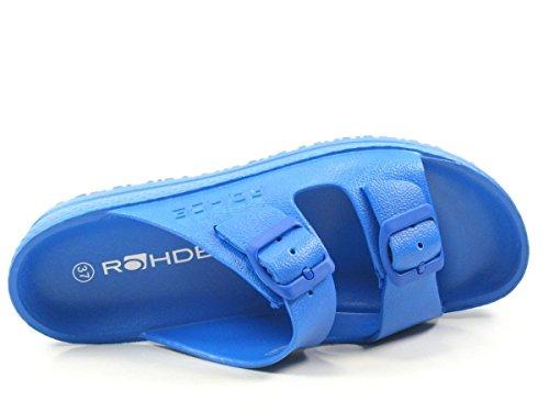 Rohde Spiaggia 7101 Zoccoli donna Blau