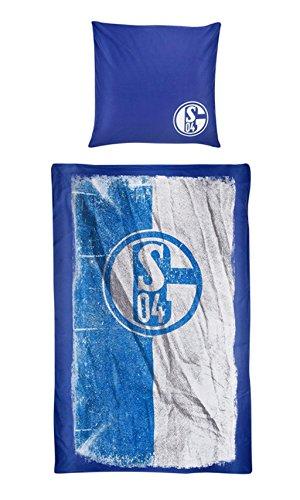 FC Schalke 04 Bettwäsche Flagge 135 x 200 cm