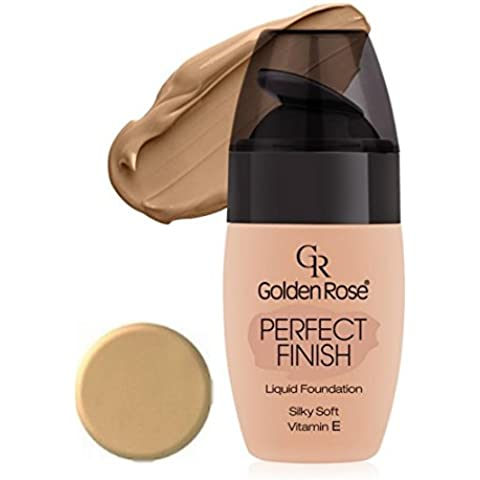 Golden Rose Perfect Finish Liquid Foundation - 62 by Golden