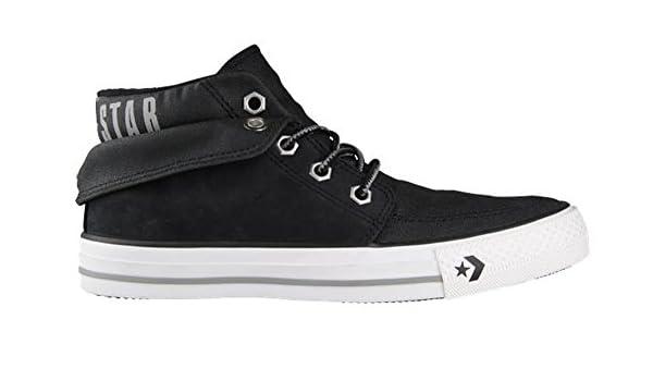 2ffe37c9ccded8 Converse Chucks Star Desert MID Sneaker Herren Turnschuhe schwarz Leder  135832 C (42)  Amazon.de  Schuhe   Handtaschen