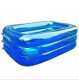 HETAO Kreativität Kinder Aufblasbare Pool Aufblasbare Paddeln/Schwimmbad Baby Familie Wasser Ball Pool Ultra Große Erwachsene Verdickte Blau, 300for outdoor Geschenk