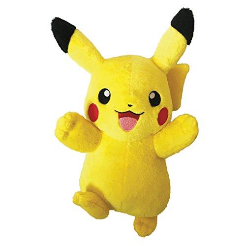 Bandai - Plüschtier Pikachu, 81222, 20 cm (Pokemon Pikachu Plüschtier)