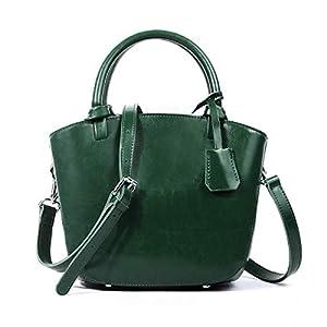 41H3xwzQe L. SS300  - Leathario Bolsos de Mano de Piel para Mujer Bolsa Bandolera para Diario de Tipo Shopping Bolsas Piel para Señoras a…
