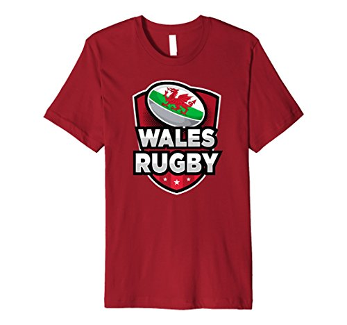 Wales Rugby-Shirt Welsh Rugby-T-Shirt mit Wales-Flagge - Wales-rugby-shirt