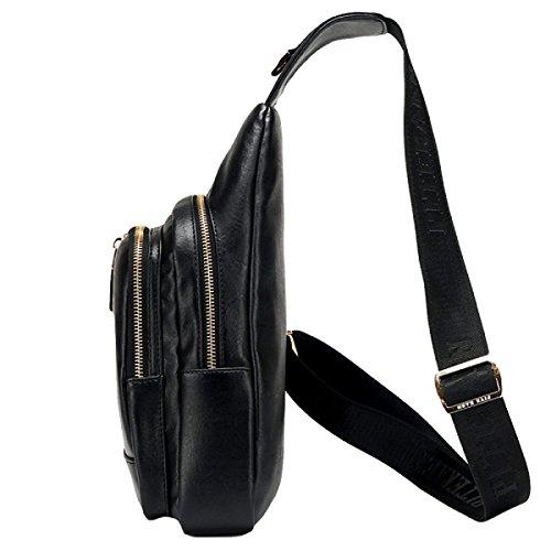 Männer Korsett Taschen Umhängetasche Rucksack Lässige Mode Wild Outdoor Reise Brown