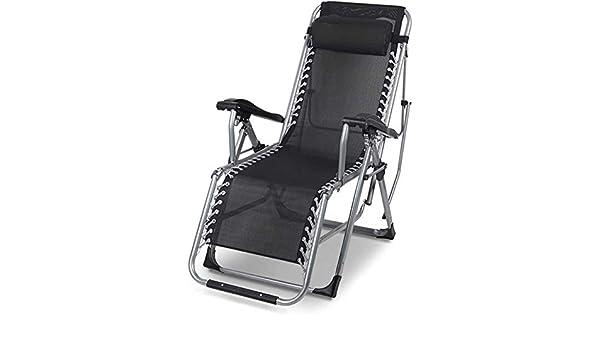 TEXTOLINE Zéro Gravité Pliante Transat camping Deluxe Chaise longue inclinable