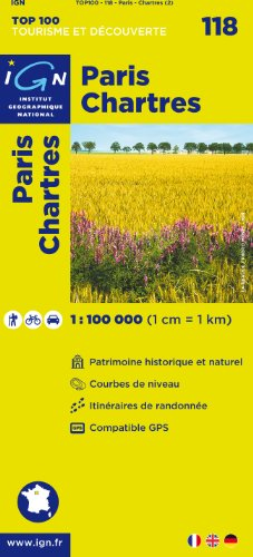 Paris / Chartres ign (Ign Map) par Institut Geographique National