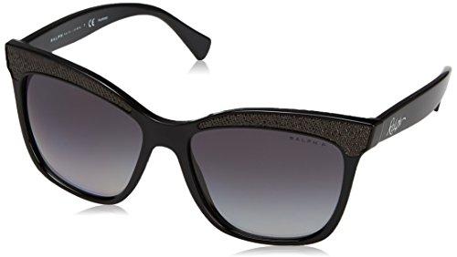 Ralph 0ra5235 1377t3, occhiali da sole donna, nero (black/greygradientpolarized), 56